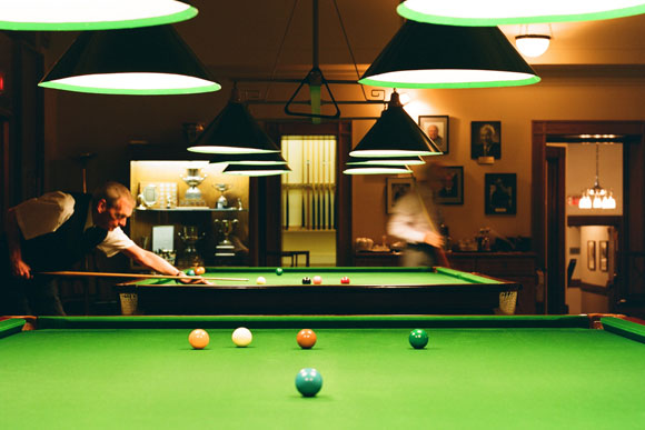The Vancouver Club - The Billiards Room