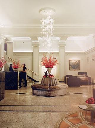 The Vancouver Club - The Loby